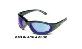 BSG BLACK w/ Blue Thunder Lens