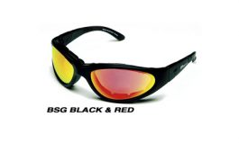 BSG BLACK w/ Crimson Red Lens